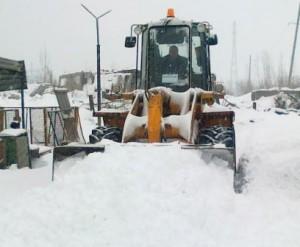 Уборка, расчистка, погрузка снега